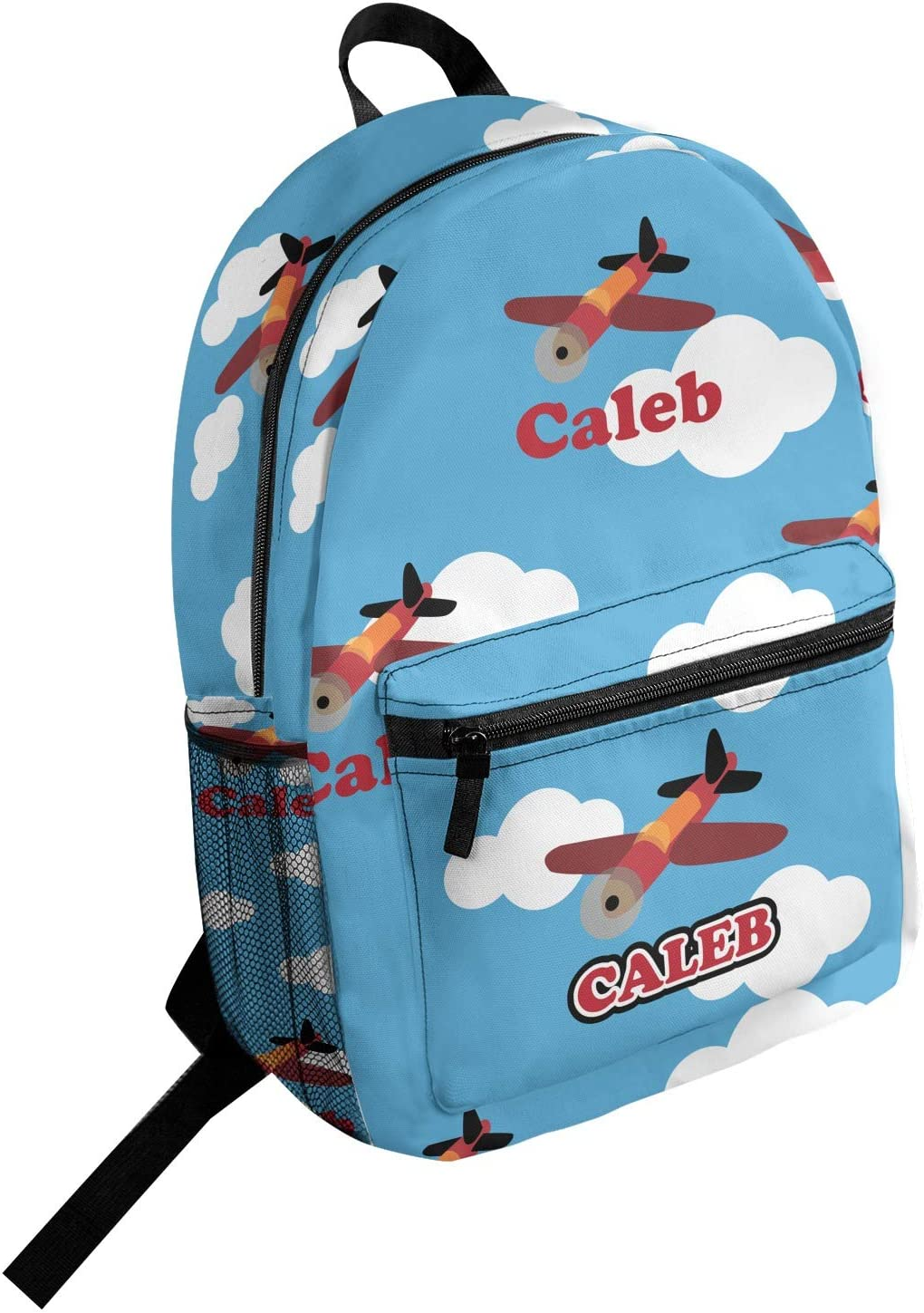 Airplane Student Backpack Personalized