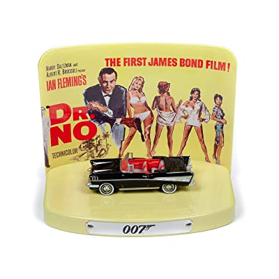 James Bond - Johnny Lightning Dr. No 1957 Chevy Bel Air w/Tin 1:64 Scale Diecast: Toys & Games