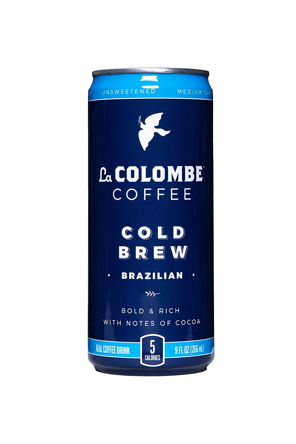 La Colombe Cold Brew Coffee - Brazilian - 9 Fluid Ounce, 16 Count - Medium Roast, Single-Origin- Made With Real Ingredients - No Sugar Added -Pure Black Coffee Grab And Go