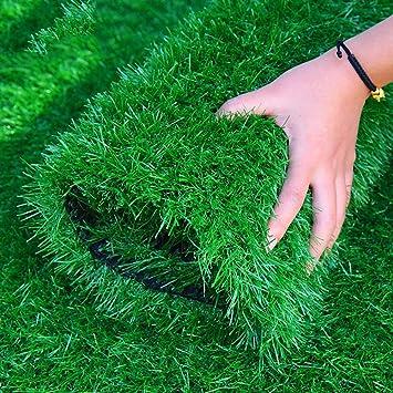 Kunstrasen 20 Millimeter K/ünstliche Simulation Des Rasens Gr/üner Matten-Fu/ßballplatz-k/ünstlicher Gef/älschter Rasen-Innenplastik-Teppich-Balkon-Isolierungs-Auflagen-dekorativer Rasen Garten Rasen