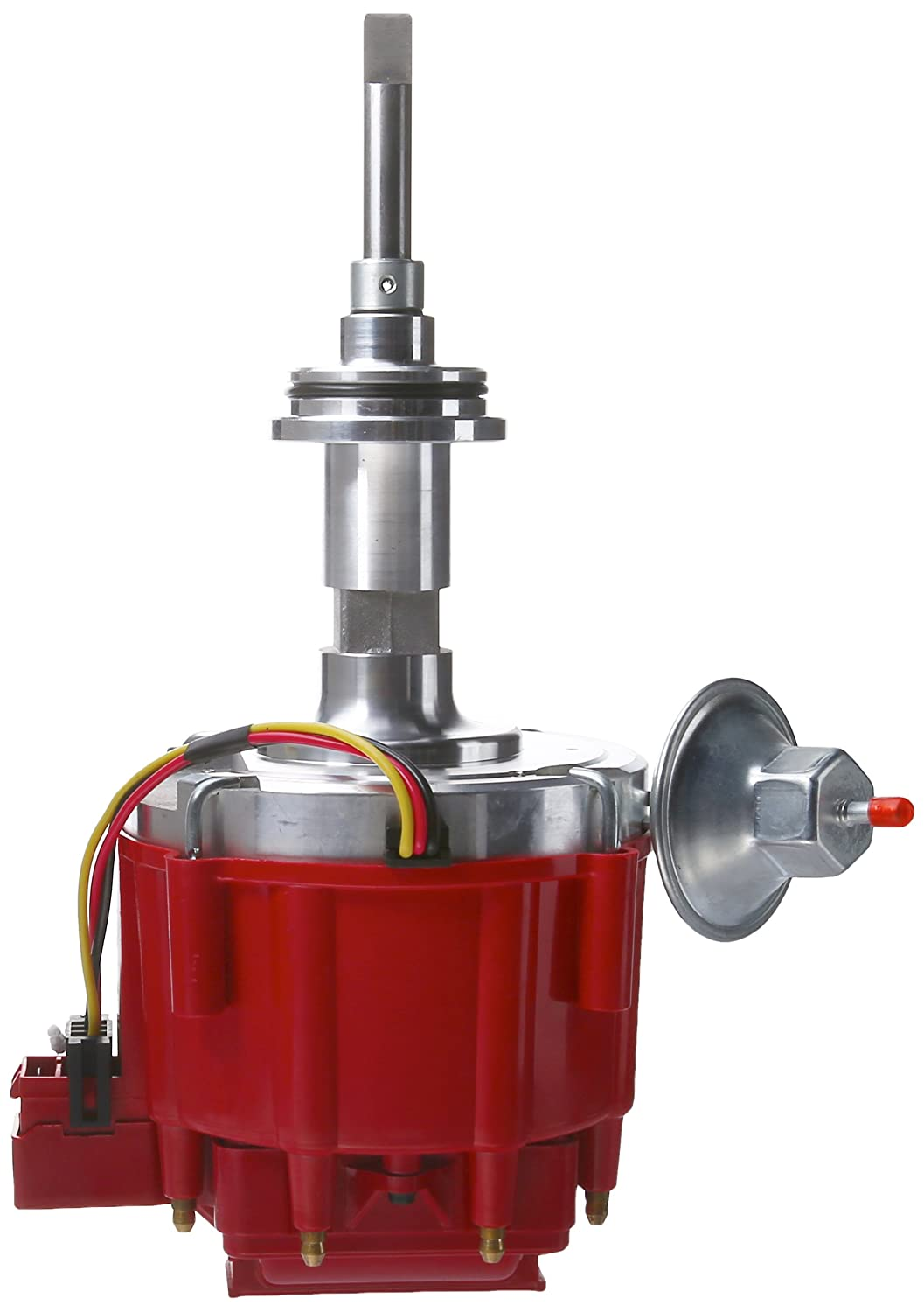 Top Street Performance JM6513R HEI Distributor with Red Cap