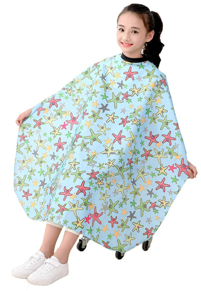 Beauty & Health New Fashion 1 Pc Flower Pattern Cutting Hair Waterproof Cloth Salon Hairdressing Hairdresser Apron Haircut Capes Hair Styling Tool Ideal Gift For All Occasions