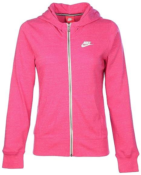 846e46bb5ed41 Amazon.com: Nike Big Girls' (7-16) Gym Vintage Full Zip Hoodie ...