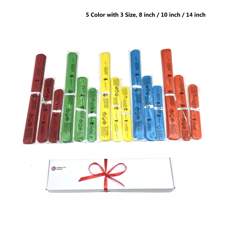da 20 15/pezzi Pompon di carta velina nei colori dell/'arcobaleno 25 e 30 cm fiori di carta per feste