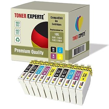 Pack de 10 XL TONER EXPERTE® Compatibles 18XL T1816 Cartuchos de ...