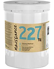 Naissance Refined Coconut (Solid) Oil (no. 227) 1kg - Pure, Natural, Cruelty Free, Vegan - Moisturising & Hydrating - Ideal for Aromatherapy, Skincare, Haircare and DIY Beauty Recipes