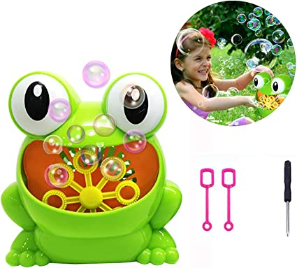 Baby Bath Bubble jouets automatique Grenouille Bubble Maker Kids bain bulle avec