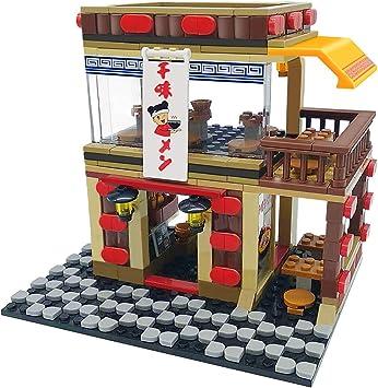 YONGTENG - Juego de construcción Ramen Shop 601024 Kinds Puzzle (365 Piezas), Dorado: Amazon.es: Juguetes y juegos
