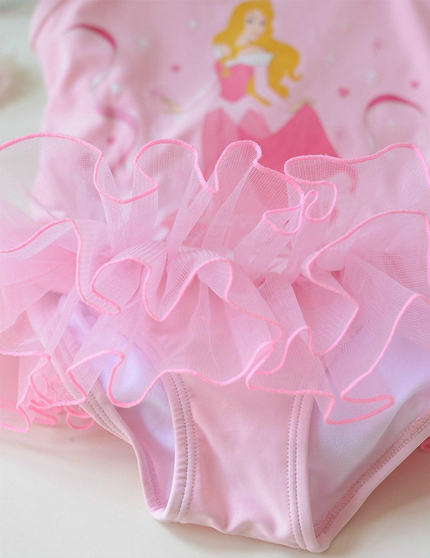 my case diy store One-Piece Kids Girls Princess Swimsuit Mermaid Set