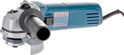 """Esmerilhadeira Angular de 4 1/2"""" Bosch GWS 6-115 670W 220V"""