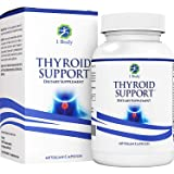 Thyroid Support Supplement with Iodine - Metabolism, Energy & Focus Formula - Vegetarian & Non-GMO - Vitamin B12 Complex, Zinc, Selenium, Ashwagandha, Copper, Coleus Forskohlii & More 30 Day Supply