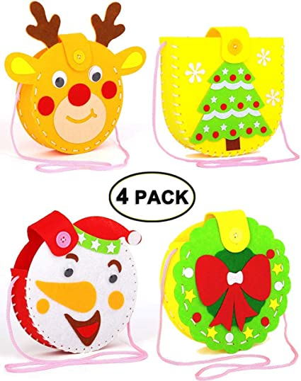 Kreative Kids DIY 4 Pack Felt Friends Sewing Kit