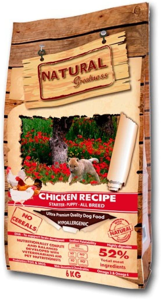 Natural Greatness Pollo Starter puppy 2 kg