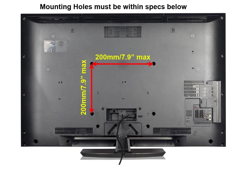 Amazon.com: Ceiling TV Mouunt Bracket For Flat Slanted Or Vaulted ...