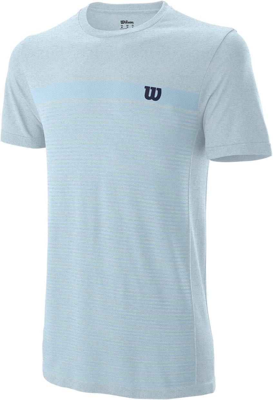 Wilson Herren COMPETITION SEAMLESS CREW Tennis-Kurzarmshirt