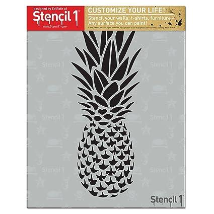 Pineapple Stencil 8 5