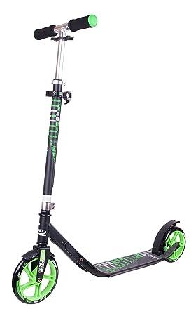 Hodura Hudora - Hornet Scooter clvr 200, color verde: Amazon ...