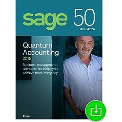 Sage 50 Quantum Accounting 2018 U.S. 1-User [Download]