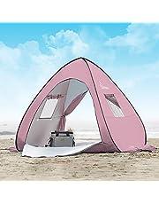 WolfWise UPF 50+ Tienda de campaña desplegable para la Playa, Pop-up Refugio para el Sol, Tienda de Playa para Bebé