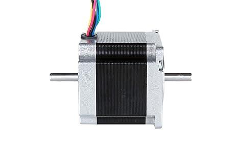 22.7oz.in 0.9deg Nema 17 moteur pas /à pas unipolaire 16Ncm 0.31A 42x42x34mm 6-Lead Nema17 moteur pas /à pas pour CNC imprimante 3D accessoires dimpression 3D