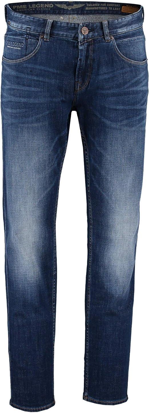 PME LEGEND UOMO JEANS NIGHTFLIGHT BLU CHIARO SLIM FIT Pantaloni per uomo stretch