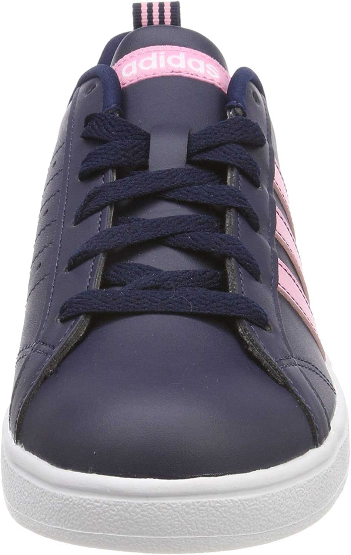 adidas Damen Vs Advantage Fitnessschuhe Blau (Maruni / Ftwbla / Rossua 000)