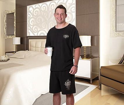 LILLIAN ROSE Novios Juego de Pijama, tamaño Mediano, Color Negro