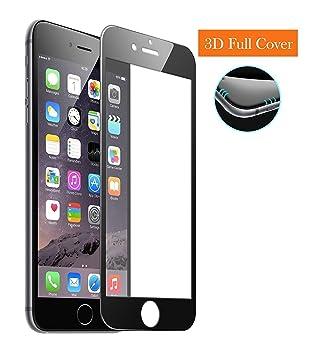 """187b2cc8b25 MarvTek Full Cover Vidrio Cristal Templado Completo curvo 3D para iPhone 6  6s 4,7"""""""