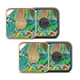 MightySkins Skin For Tile Pro Sport and Style Smart (Pack of 4 skins) - Psychedelic | Protective, Durable, and Unique Vinyl Decal wrap cover | Easy To Apply, Remove, and Change Style | Made in the USA