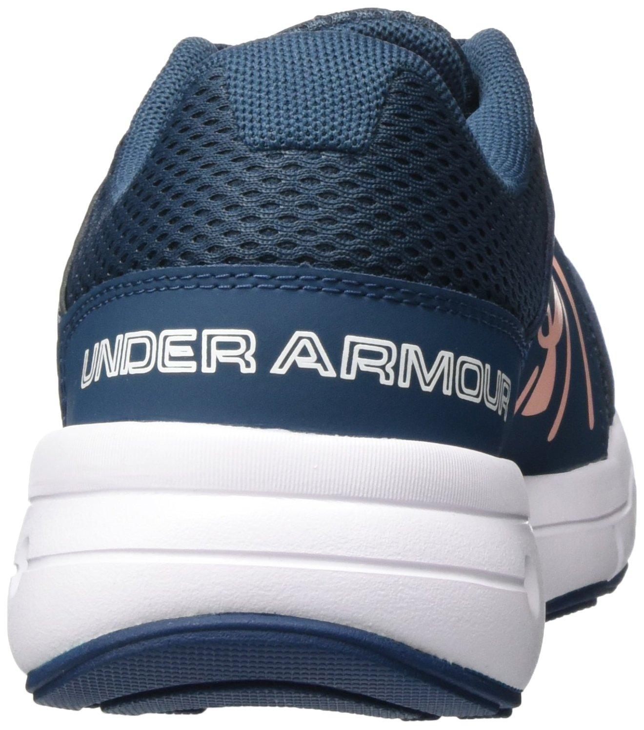 Under Armour Women's Dash 2 Running Shoe B01MTZZBK8 6 B(M) US True Ink/White/Pink Sands