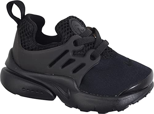 Nike Little Presto (TD), Zapatos de Primeros Pasos Unisex bebé, Negro Black