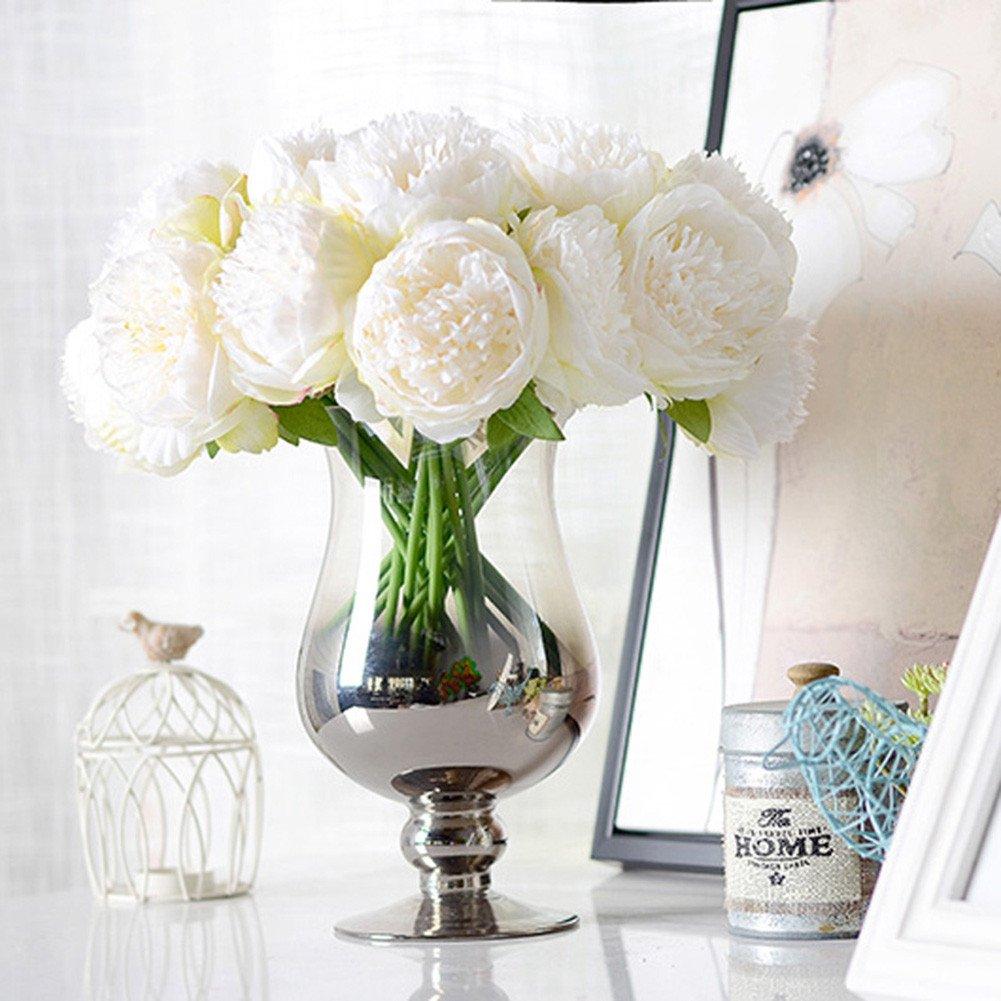 künstliche Blume, künstliche Pfingstrose Seide Blumengesteck ...