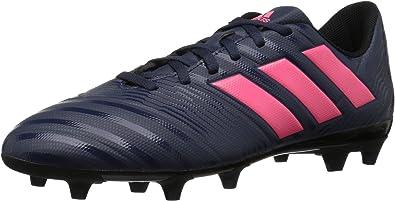 adidas Nemeziz 17.4 FG W Zapato de fútbol para mujer, Trace Azul/Rojo  Zest/Core Negro, 7 M US