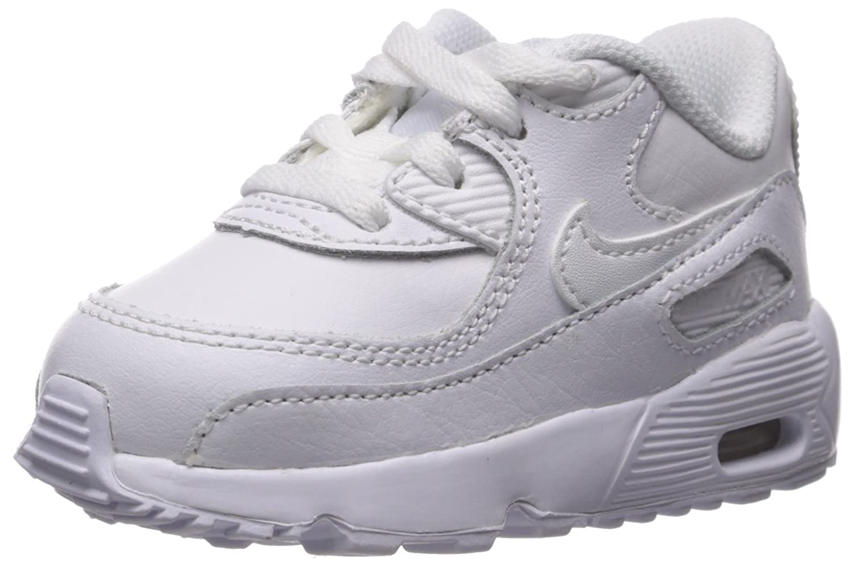 Nike Boys Air Max 90 Leather (TD), Chaussures Mixte Enfant