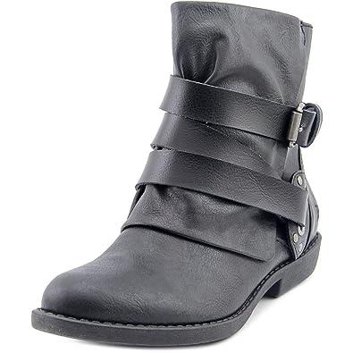 Blowfish Women's Alias Ankle Bootie,Black Old Ranger/Dyecut PU,6.5