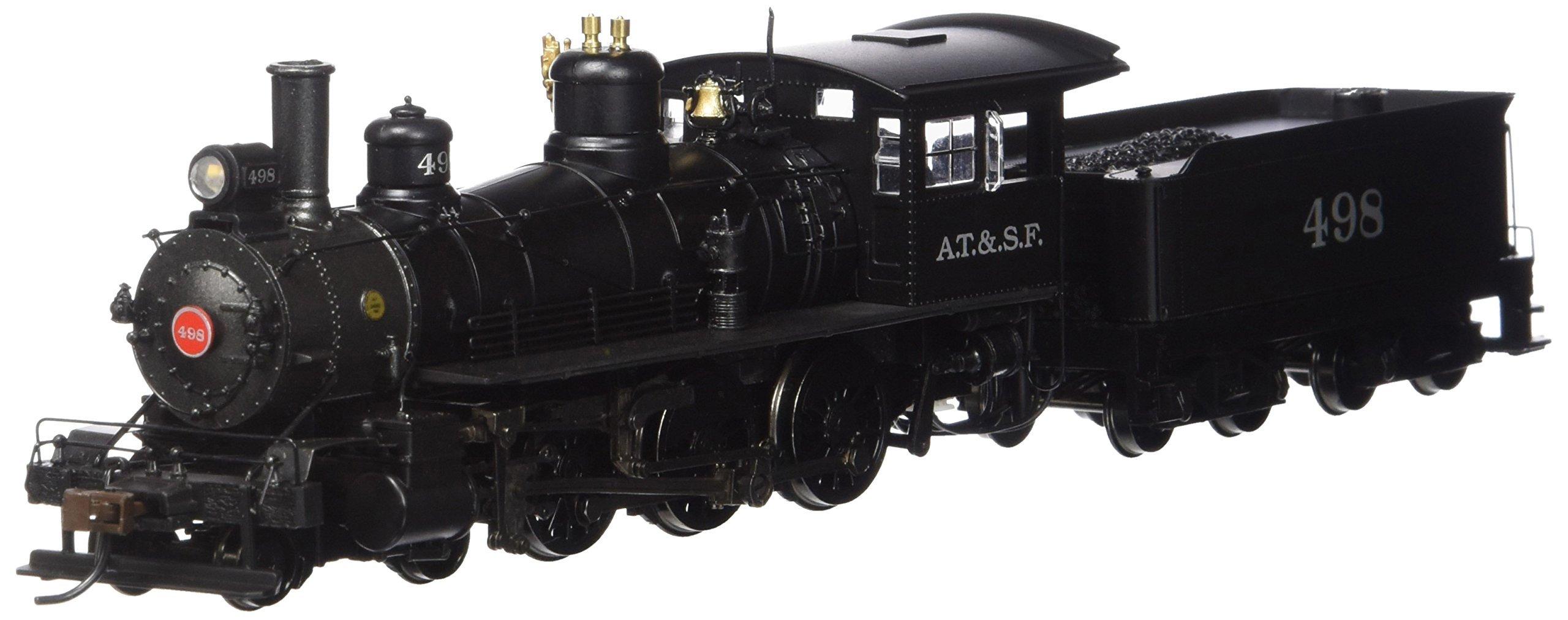 Bachmann Industries Baldwin 52'' Driver 4-6-0 DCC Sound Value Equipped Locomotive - SANTA FE #498 - (1:87 HO Scale)