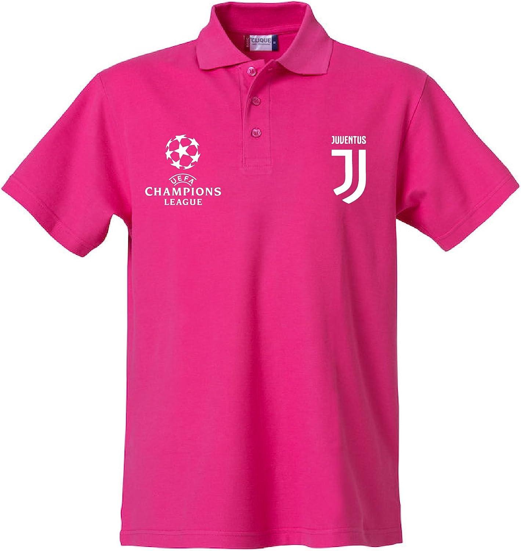 Clique FC Juventus Polo Adulto Personalizada Made in Italy Passione Bianconera