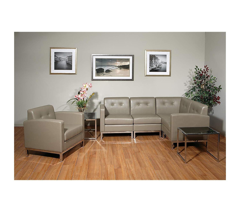 Amazon.com: Office Home Furniture Premium Wall Street Faux ...
