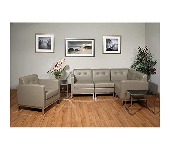 Amazon.com: Office Home Furniture Premium Wall Street Faux ...