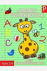 Jumbo Workbook Pre Kindergarten: Jumbo Preschool Activity Book Ages 2-4 (Activity Books for Kids) Paperback