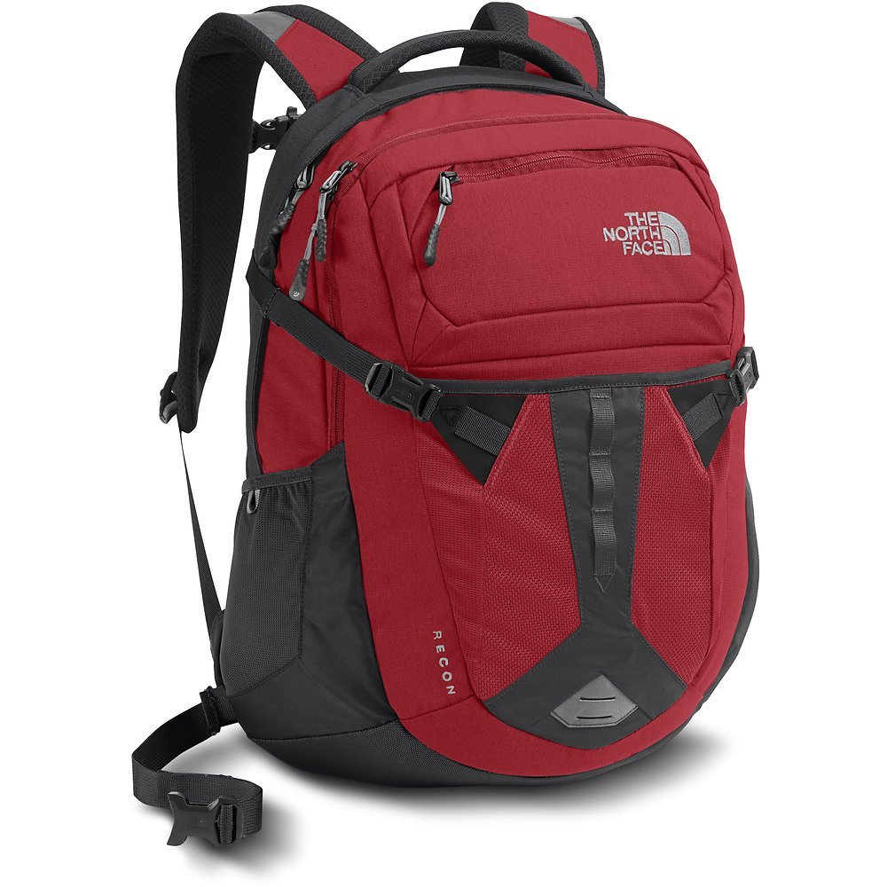The North Face Recon Backpack - Rage Red/Asphalt Grey