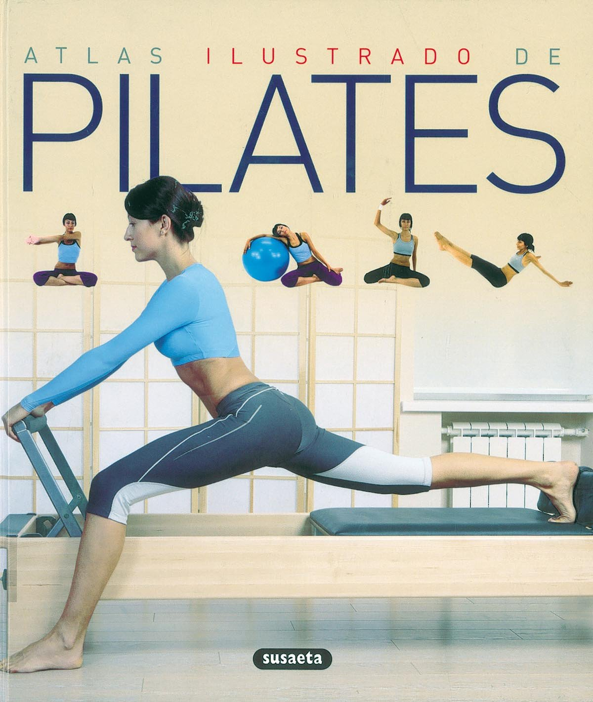 Atlas ilustrado de pilates: S-851-81: 9788430570331: Amazon ...