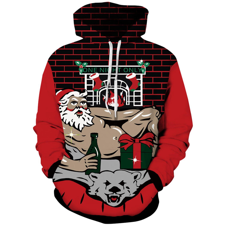 Roaays M Unisex 3D Hoodies Sweatshirts Funny Creative Pullover Hoodie S-3XL RMCH0033