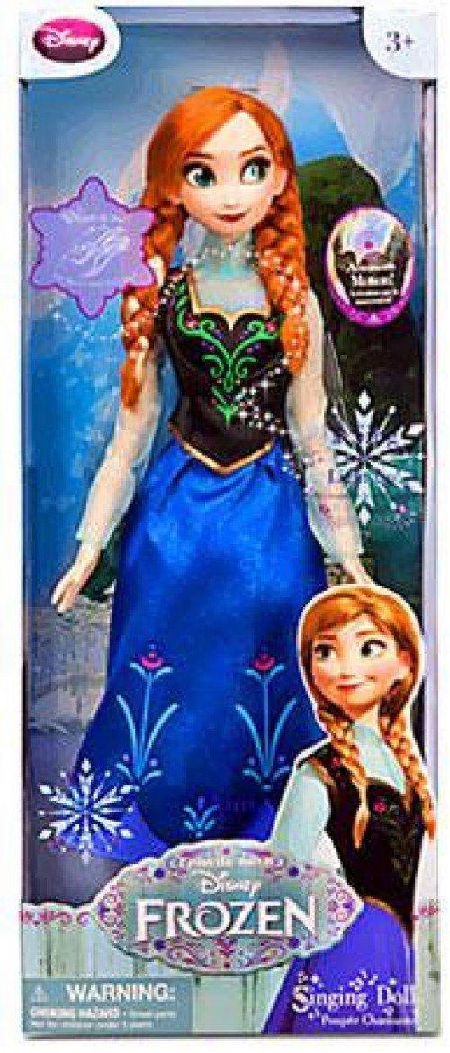 Disney - Frozen   Eiskönigin - Anna Puppe - singt - 40cm gross
