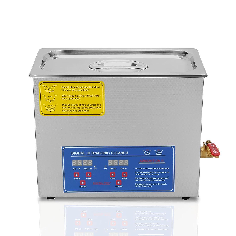 BuoQua 15L Pulitore Ad Ultrasuoni Display Digitale Ultrasuoni Bagno Ultrasuoni Dispositivo Con Timer Digitale 15L