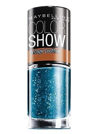 amazon com maybelline color show vintage leather nail polish 207