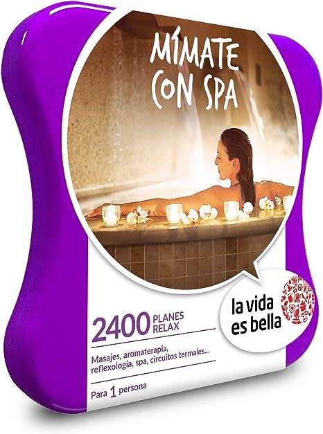 La Vida es Bella - Caja Regalo - Mímate Con Spa - 2400 planes de bienestar como masajes, reflexología, circuitos termales y más: Amazon.es: Deportes y aire libre