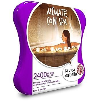 Smartbox LA Vida ES Bella - Caja Regalo - MÍMATE con SPA - 1500 Planes de Bienestar como masajes, reflexología, circuitos Termales y más: Amazon.es: ...