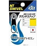 NTスイベル(N.T.SWIVEL) ラウンドスナップ クロ #1
