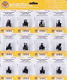 Bachmann Industries Friction Bearing Freight Trucks without Wheels N Scale, Pack of 12